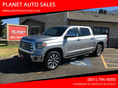 2018 Toyota Tundra for sale at PLANET AUTO SALES in Lindon UT