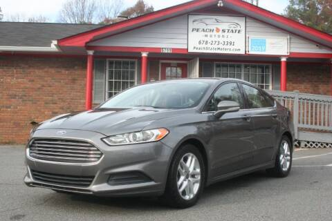 2014 Ford Fusion for sale at Peach State Motors Inc in Acworth GA