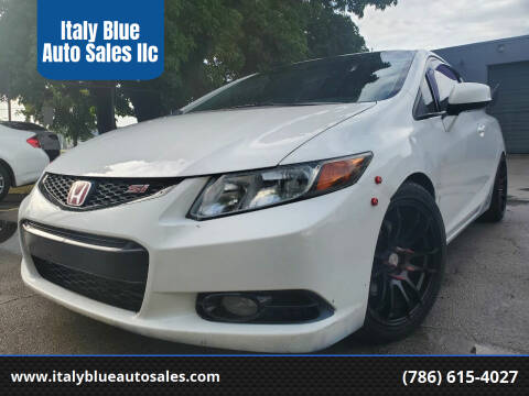 2012 Honda Civic for sale at Italy Blue Auto Sales llc in Miami FL