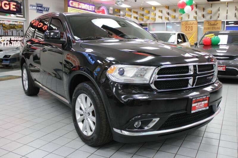 2014 Dodge Durango for sale at Windy City Motors in Chicago IL