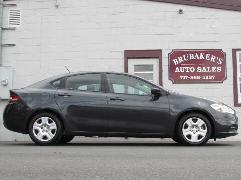 2014 Dodge Dart for sale at Brubakers Auto Sales in Myerstown PA