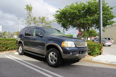2002 Ford Explorer for sale at Love's Auto Group in Boynton Beach FL