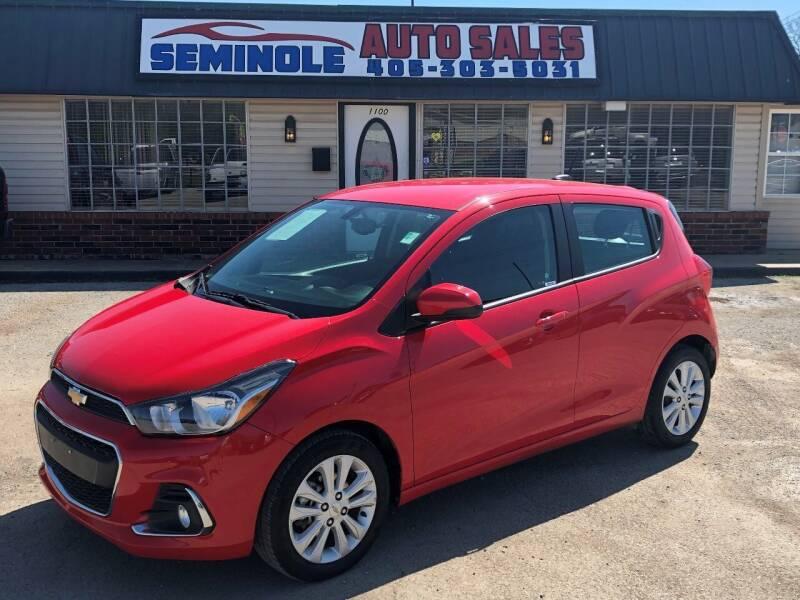 2017 Chevrolet Spark for sale at Seminole Auto Sales in Seminole OK