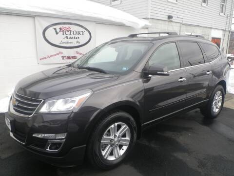2014 Chevrolet Traverse for sale at VICTORY AUTO in Lewistown PA