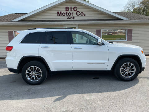 2015 Jeep Grand Cherokee for sale at Bic Motors in Jackson MO