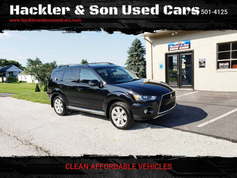 2011 Mitsubishi Outlander for sale at Hackler & Son Used Cars in Red Lion PA
