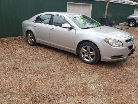 2009 Chevrolet Malibu for sale at Northwoods Auto & Truck Sales in Machesney Park IL