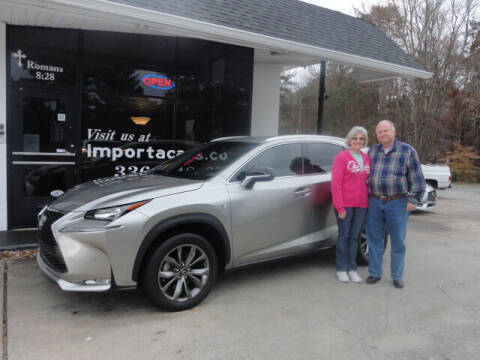 2017 Lexus NX 200t for sale at importacar in Madison NC
