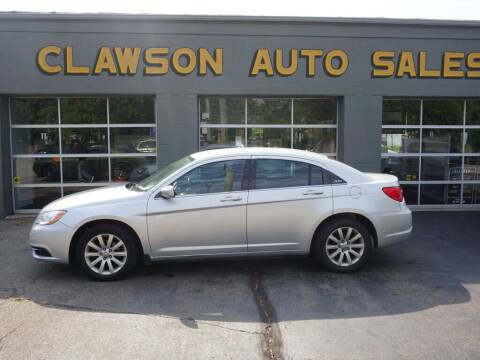 2011 Chrysler 200 for sale at Clawson Auto Sales in Clawson MI