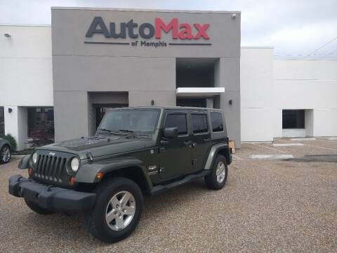 2007 Jeep Wrangler Unlimited for sale at AutoMax of Memphis - Darrell James in Memphis TN