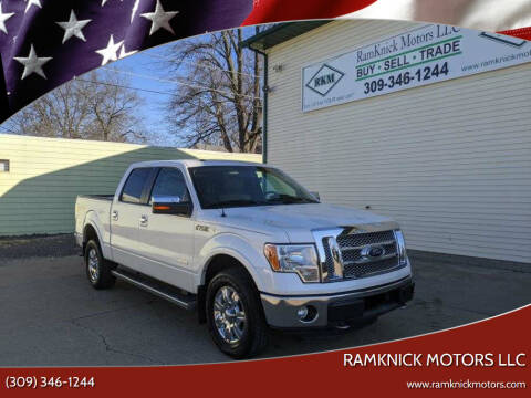 2011 Ford F-150 for sale at RamKnick Motors LLC in Pekin IL