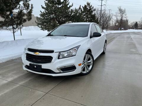 2015 Chevrolet Cruze for sale at A & R Auto Sale in Sterling Heights MI