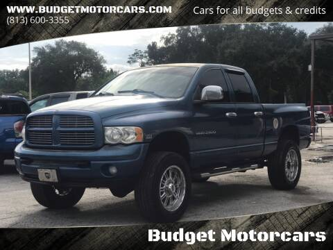 2004 Dodge Ram Pickup 2500 for sale at Budget Motorcars in Tampa FL