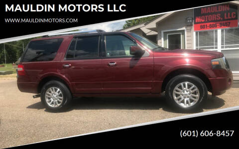2012 Ford Expedition for sale at MAULDIN MOTORS LLC in Sumrall MS