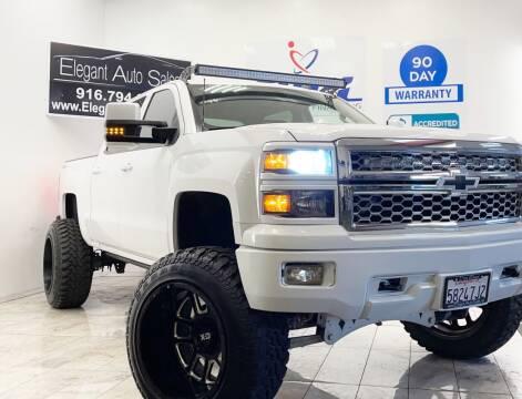 2014 Chevrolet Silverado 1500 for sale at Elegant Auto Sales in Rancho Cordova CA