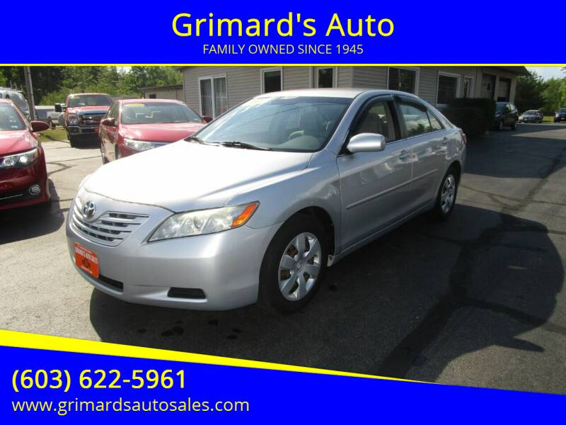 2007 Toyota Camry for sale at Grimard's Auto in Hooksett, NH