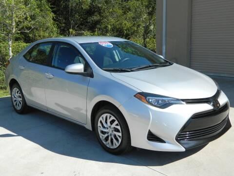 2019 Toyota Corolla for sale at Jeff's Auto Sales & Service in Port Charlotte FL