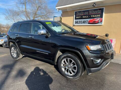2014 Jeep Grand Cherokee for sale at DEALZ ON WHEELZ in Winchester VA