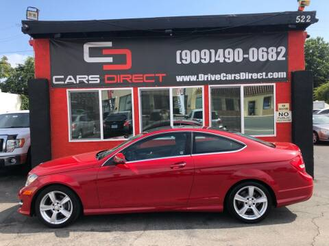 2015 Mercedes-Benz C-Class for sale at Cars Direct in Ontario CA