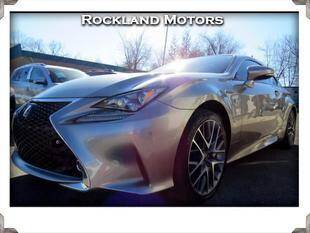 2015 Lexus RC 350 for sale at Rockland Automall - Rockland Motors in West Nyack NY