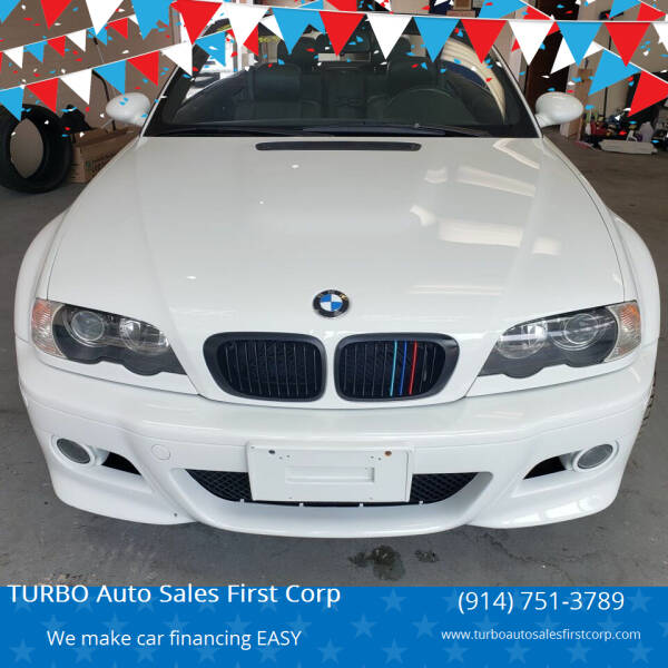 2006 BMW M3 for sale at TURBO Auto Sales First Corp in Yonkers NY