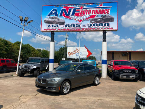 2014 BMW 5 Series for sale at ANF AUTO FINANCE in Houston TX