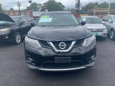 2016 Nissan Rogue for sale at Park Avenue Auto Lot Inc in Linden NJ