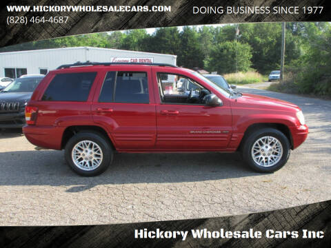 2004 Jeep Grand Cherokee for sale at Hickory Wholesale Cars Inc in Newton NC