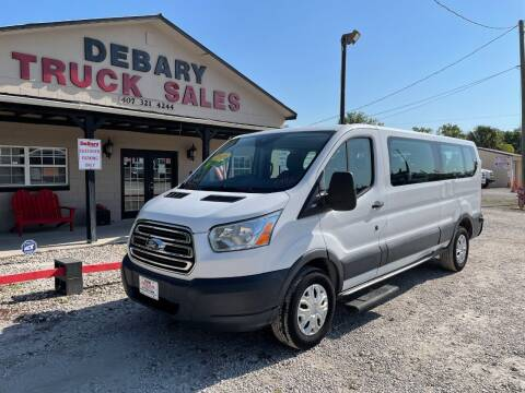 2016 Ford Transit Passenger for sale at DEBARY TRUCK SALES in Sanford FL