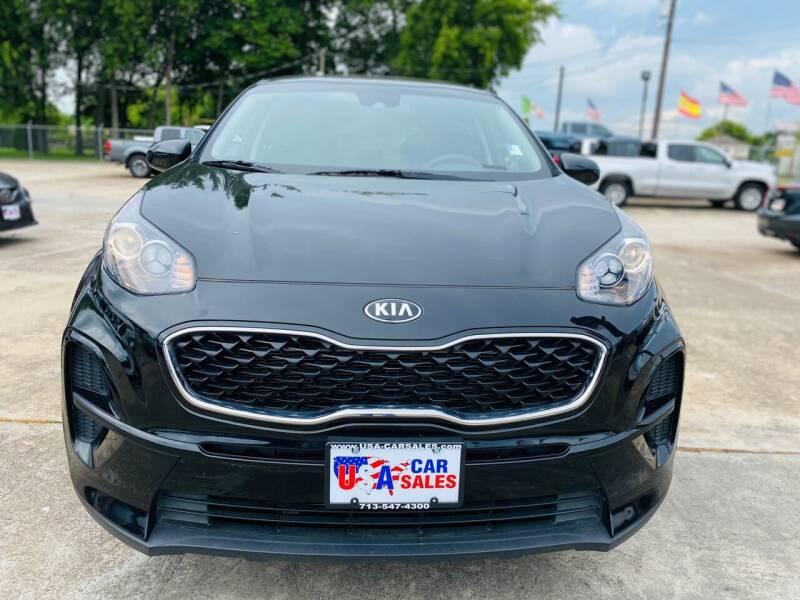 2020 Kia Sportage for sale at HOUSTON CAR SALES INC in Houston TX