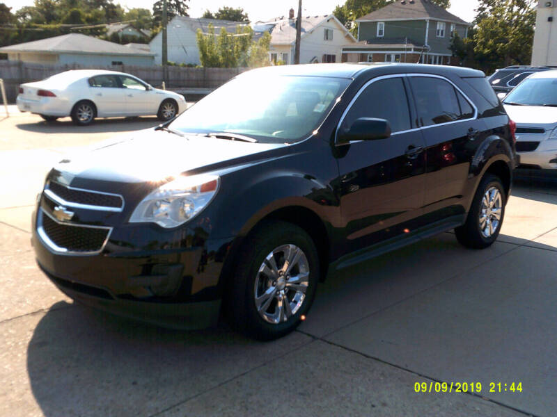2015 Chevrolet Equinox for sale at Fred Elias Auto Sales in Center Line MI