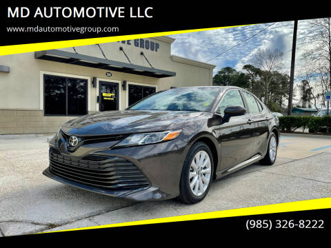 2018 Toyota Camry for sale at MD AUTOMOTIVE LLC in Slidell LA