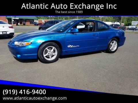1998 Pontiac Grand Prix for sale at Atlantic Auto Exchange Inc in Durham NC