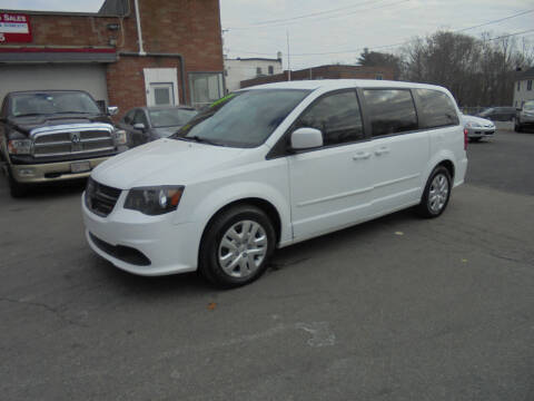 2015 Dodge Grand Caravan for sale at Washington Street Auto Sales in Canton MA