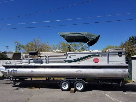1997 Sun Tracker Party Barge 27 for sale at Freds Auto Sales LLC in Carson City NV