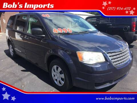 2008 Chrysler Town and Country for sale at Bob's Imports in Clinton IL