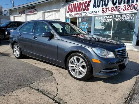 2014 Mercedes-Benz C-Class for sale at Sunrise Auto Outlet in Amityville NY