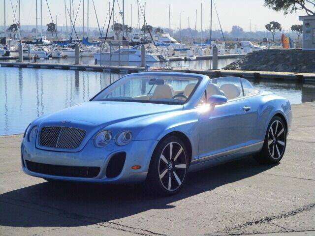 2008 Bentley Continental for sale at Convoy Motors LLC in National City CA
