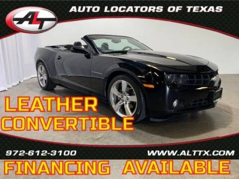 2011 Chevrolet Camaro for sale at AUTO LOCATORS OF TEXAS in Plano TX