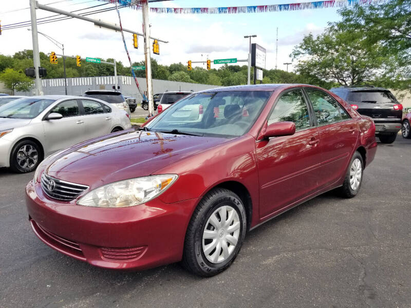 2006 Toyota Camry for sale at Cedar Auto Group LLC in Akron OH