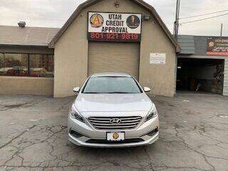 2016 Hyundai Sonata for sale at Utah Credit Approval Auto Sales in Murray UT