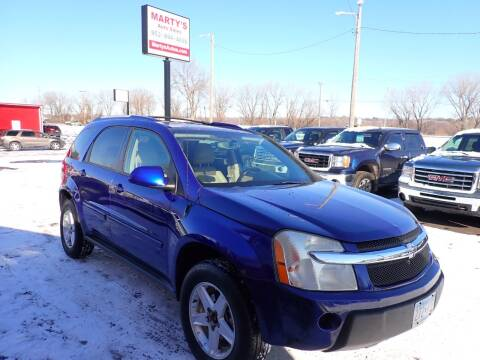 2006 Chevrolet Equinox for sale at Marty's Auto Sales in Savage MN