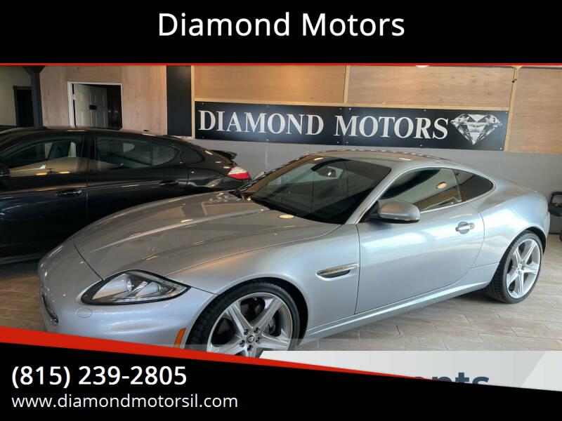 2012 Jaguar XK for sale at Diamond Motors in Pecatonica IL