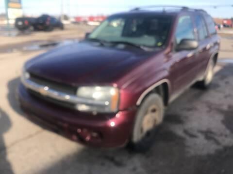 2007 Chevrolet TrailBlazer for sale at Strait-A-Way Auto Sales LLC in Gaylord MI