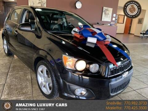 2014 Chevrolet Sonic for sale at Amazing Luxury Cars in Snellville GA