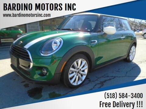 2020 MINI Hardtop 2 Door for sale at BARDINO MOTORS INC in Saratoga Springs NY