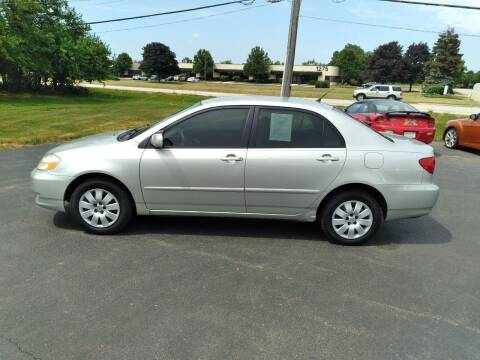 2004 Toyota Corolla for sale at Reliable Wheels Used Cars in West Chicago IL