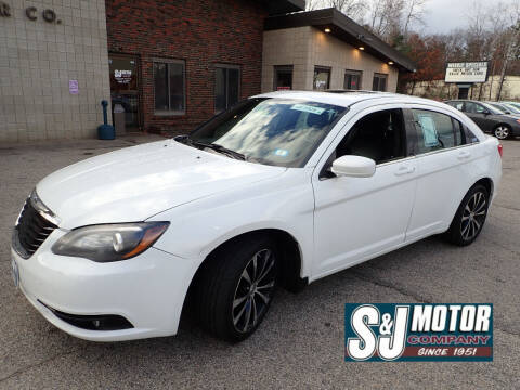 2014 Chrysler 200 for sale at S & J Motor Co Inc. in Merrimack NH