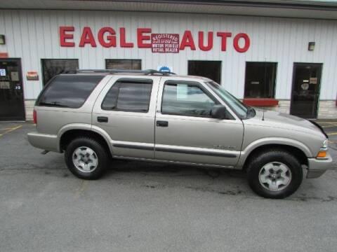 2002 Chevrolet Blazer for sale at Eagle Auto Center in Seneca Falls NY
