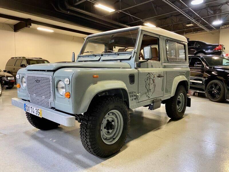 1991 Land Rover Defender for sale at Motorgroup LLC in Scottsdale AZ